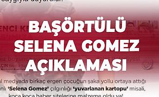 """Kayseri Talas Belediye Başkanı'ndan """"Selena Gomez'e Başörtüsü"""" Konusunda Açıklama"""