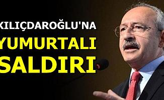 Kemal Kılıçdaroğlu'na Yumurta Atıldı-İşte O Anın Videosu