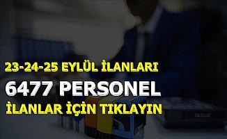 Kamuya KPSS'siz ve 50 KPSS ile 6477 Personel ve Memur Alımı