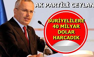"""Mehmet Ceylan: """"Türkiye Olarak Suriyelilere 40 Milyar Dolar Harcadık"""""""