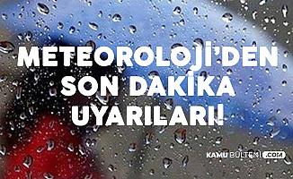 Meteoroloji'den Yağmur Uyarısı: İşte Hava Durumu (İstanbul, İzmir, Denizli..)