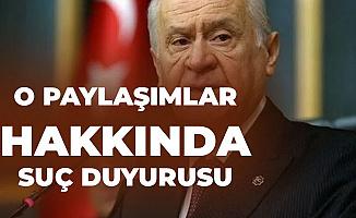 MHP Lideri Bahçeli'den Hastalığıyla İlgili Paylaşımlara Suç Duyurusu