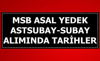 MSB Yedek Subay Astsubay Alımında Tarih Açıklandı-6 Bin TL Maaş