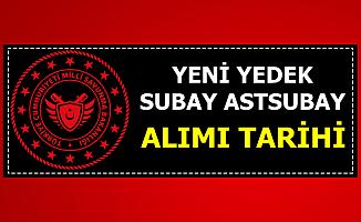 MSB Yeni Yedek Subay ve Astsubay Alımı ve 99/4 Sonuç Açıklama Tarihi