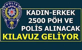 Polis Akademisi Kadın-Erkek 2 Bin 500 PÖH-Polis Alımı Yapacak-Kılavuz Geliyor Eylül 2019