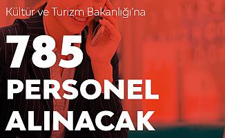 Resmi Duyuru Yayımlandı! Kültür Bakanlığı'na 785 Sözleşmeli Kamu Personeli Alınacak