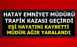 Son Dakika Emniyet Müdürü Kamil Karabörk Kaza Yaptı