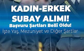Subay Olmak İsteyenler için Beklenen İlan Geldi! TSK 2019 Yılı Dış Kaynaktan Muvazzazf Subay Adayı Alımı Başvuru Şartları Belli Oldu