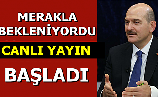 Süleyman Soylu'nun CNN Türk Canlı Yayını Başladı: Kayyum Açıklaması