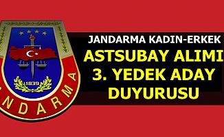 Tarih Açıklandı: Jandarma Kadın-Erkek Astsubay Alımı Yedek Duyurusu Geldi