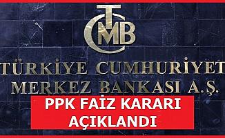 TC Merkez Bankası Faiz Kararı Açıklandı