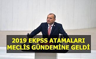 2019 EKPSS Memur Alımı TBMM Gündeminde