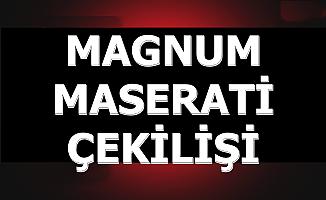 Magnum Maserati Çekiliş ve Sonuç Açıklama Tarihi 2019