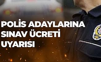 26. Dönem POMEM ile Polis Alımında 130 TL'lik Sınav Ücretine Dikkat!