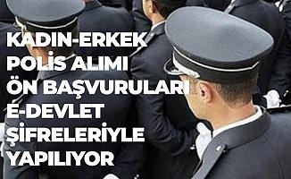 7 Bin Kadın-Erkek Polis Alımına Başvurular Devam Ediyor
