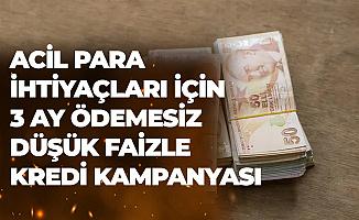 Acil Para İhtiyaçları için Vakıfbank'tan 3 Ay Ödemesiz Tüketici Kredisi Kampanyası