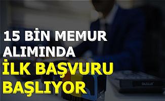 Adalet Bakanlığı 15 Bin Kamu Personel Alımında İlk Başvurular Başlıyor