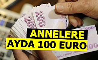 Annelere Ayda 100 Euro Destek