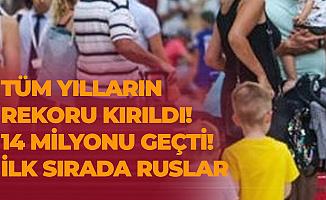 Antalya'da Rekor Üstüne Rekor! Tüm Yılların Rekoru Kırıldı