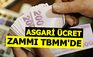 Asgari Ücret Zammı TBMM'de Soruldu