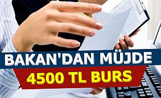 Bakan Varank'tan O Öğrencilere 4500 TL Burs Müjdesi