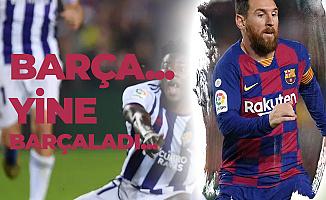 Barcelona Valladolid'e Gol Oldu Yağdı! Farklı Skor