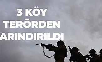 Barış Pınarı Harekatıyla 3 Köy Terör Unsurlarından Arındırıldı