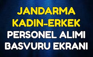 Başvuru Ekranı Açıldı: Jandarma KPSS Şartı Olmadan Kamu Personeli Alımı Yapıyor