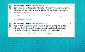 Cumhurbaşkanı Erdoğan : Trump ile Güvenli Bölge Hakkında Fikir Alışverişinde Bulunduk