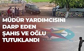 Diyarbakır'da Öğretmeni Darp Eden Baba ve Oğlu Cezaevine Gönderildi