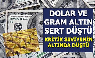 Dolar Kuru ve Altın Fiyatları Kritik Seviyenin Altına Düştü (Döviz-Gram ve Çeyrek Altın)