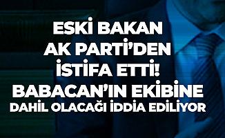 Eski Bakan Nihat Ergün AK Parti'den İstifa Ettiğini Açıkladı