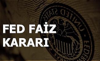 Fed Ekim 2019 Faiz Kararını Açıkladı