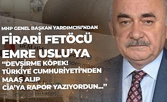 Firari FETÖ'cü Teröristlerden MHP Genel Başkan Yardımcısı Vahapoğlu'naTehdit