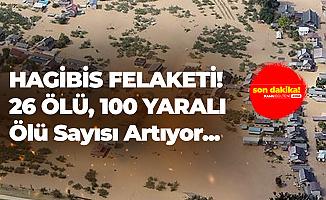 Hagibis Tayfunu'nda Ölü ve Yaralı Sayısı Arttı! 26 Ölü, 100 Yaralı...