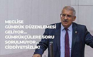 İYİ Parti Konya Milletvekili Fahrettin Yokuş Gümrük Çalışanlarının Sesi Oldu