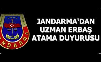 Jandarma Art Arda 2 Duyuru Yayınladı: Uzman Erbaş Ataması