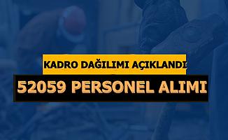 Kadro Dağılımı Açıklandı: İŞKUR 52 Bin 59 Personel Alımı