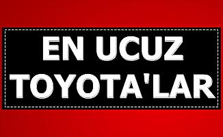 Kampanya Başladı: En Ucuz Toyota Corolla ve Yaris Modelleri