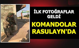 Komandolar Rasulayn'da-İlk Fotoğraflar Geldi