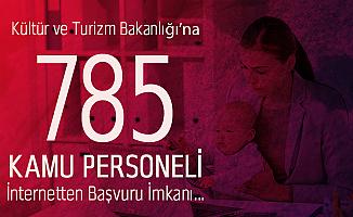 Kültür ve Turizm Bakanlığı 785 Personel Alımında Başvuru Süreci 9 Ekim'de Sona Erecek