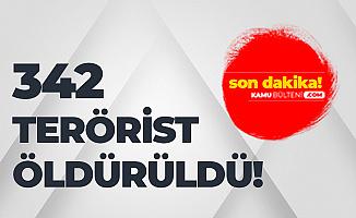 Milli Savunma Bakanı Akar'dan Yeni Açıklama: 342 Terörist Etkisiz Hale Getirildi