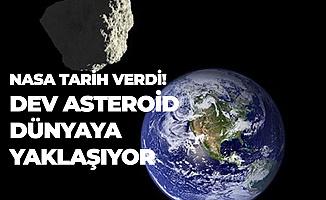 NASA Tarih Vererek Duyurdu! Korkutan Açıklama'Ada Büyüklüğünde Astreroid Dünya'ya Yaklaşıyor'