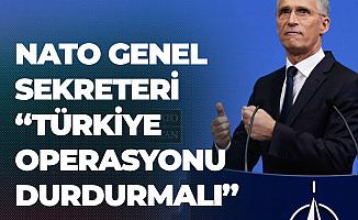 NATO Genel Sekreteri: Türkiye Operasyonu Sonlandırmalı