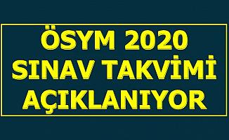 ÖSYM 2020 Sınav Takvimi Açıklanıyor-KPSS-YKS-MSÜ Tarihleri Belli Oluyor