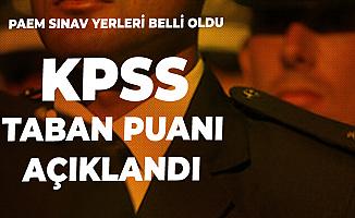 PAEM Sınav Yerleri Açıklandı - PAEM 2 Bin Polis Alımı KPSS Taban Puanı Açıklandı