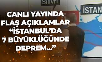 """Prof. Dr. Görür'den """"İstanbul'da 7.2 Büyüklüğünde Deprem"""" Açıklaması"""