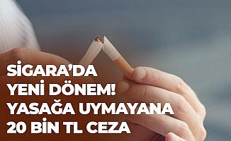 Sigara'da Yeni Dönem 5 Aralık'ta Başlıyor! Yasağa Uymayana 20 Bin TL Ceza