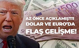 Trump'ın Açıklamalarından Sonra Dolar, EURO ve Altın Fiyatlarında Sert Düşüş