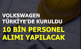 Volkswagen Resmi Açıklamayı Yaptı: Türkiye'deki Fabrikaya 10 Bin Personel Alımı